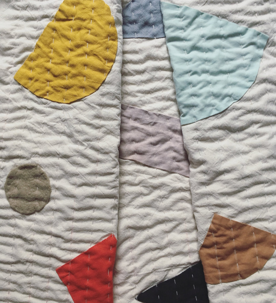 Natural Ship-Shape Quilt