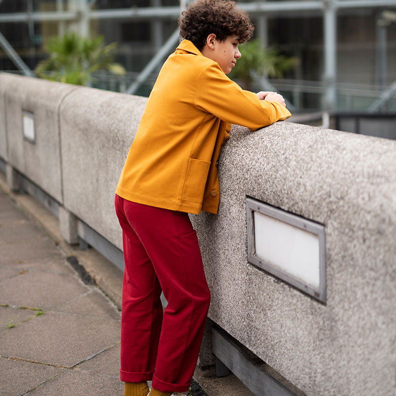 Red Kids Trousers