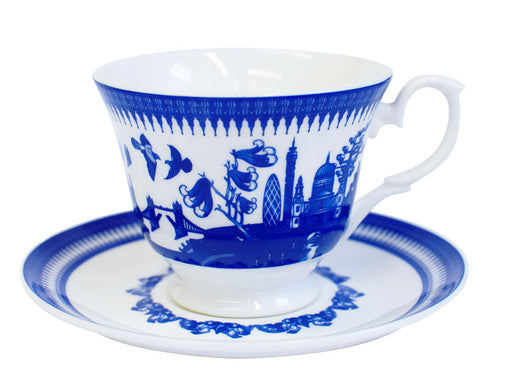 London Willow Teacup & Saucer