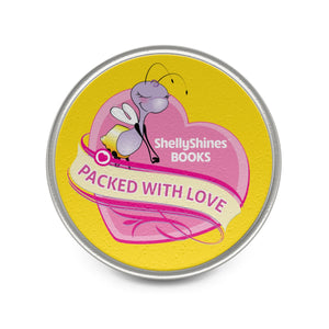 Packed with Love ShellyShines Books Pin