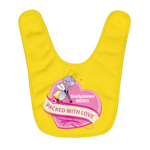 Packed with Love Infant Bib
