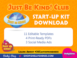 Just Be Kind! Club Start-up Kit