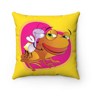Shelly and Phillip Square Pillow