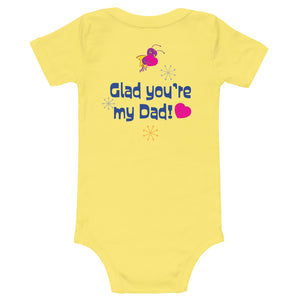 Happy Father's Day T-Shirt - Onesie