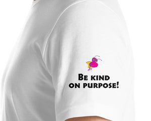 Just Be Kind! Club T-Shirt - World Logo (large)
