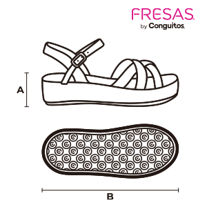 size guide wedge shoes