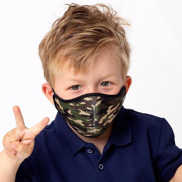 Child's Camouflage Certified Mask