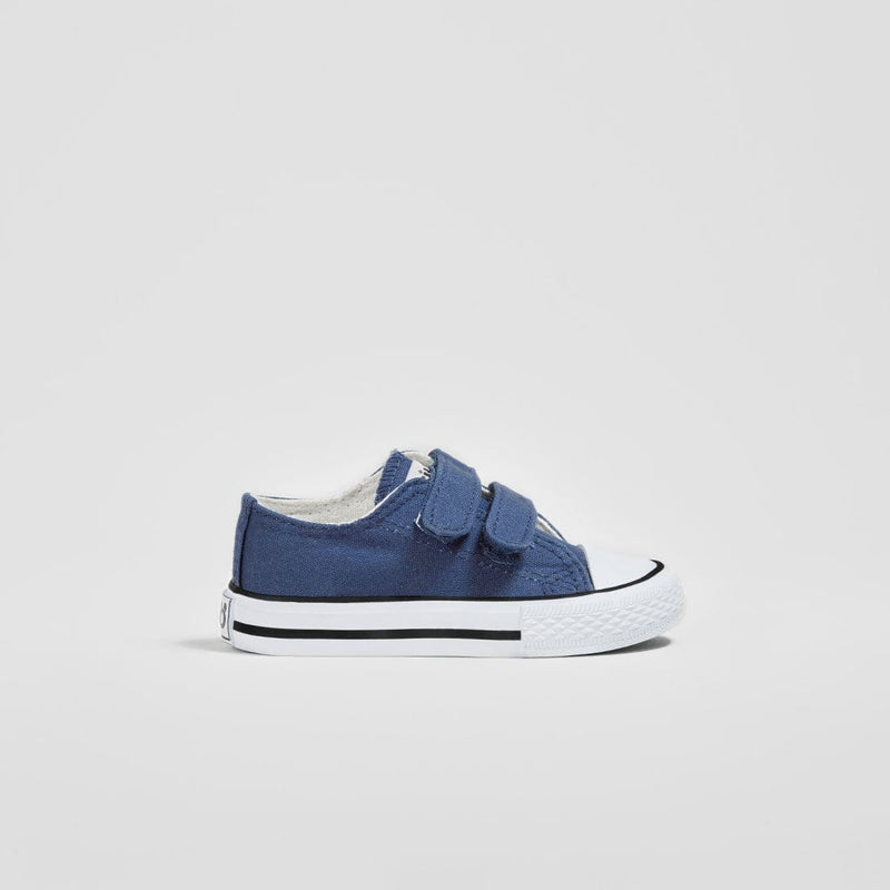 Babies Navy Canvas Sneakers