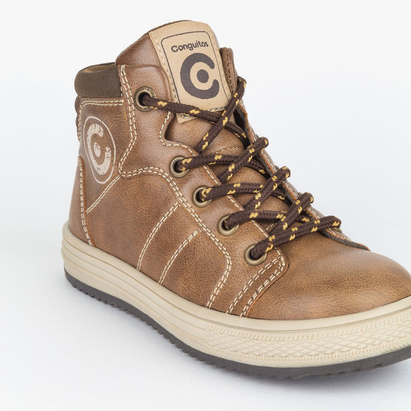 Boy's Brown Cords Boots