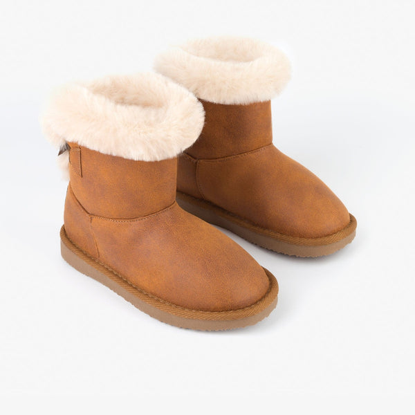 Camel Australian Boots with Bow