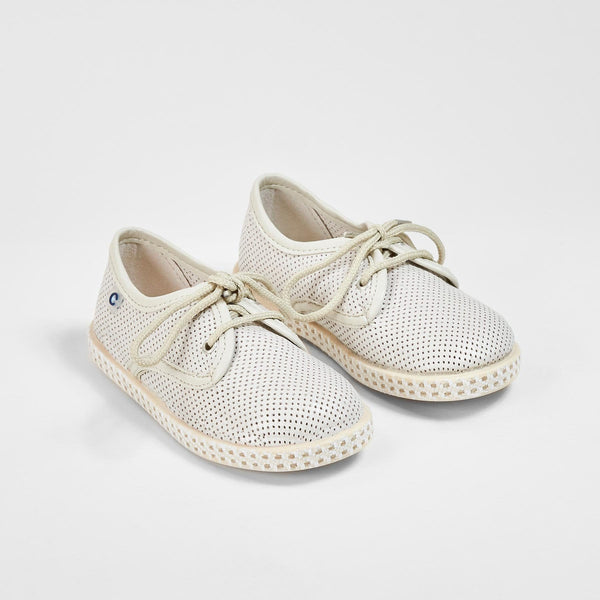 Boys Beige Shoes