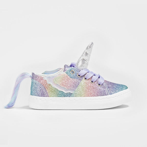 Zapatillas de Niña Unicornio Glitter Multicolor