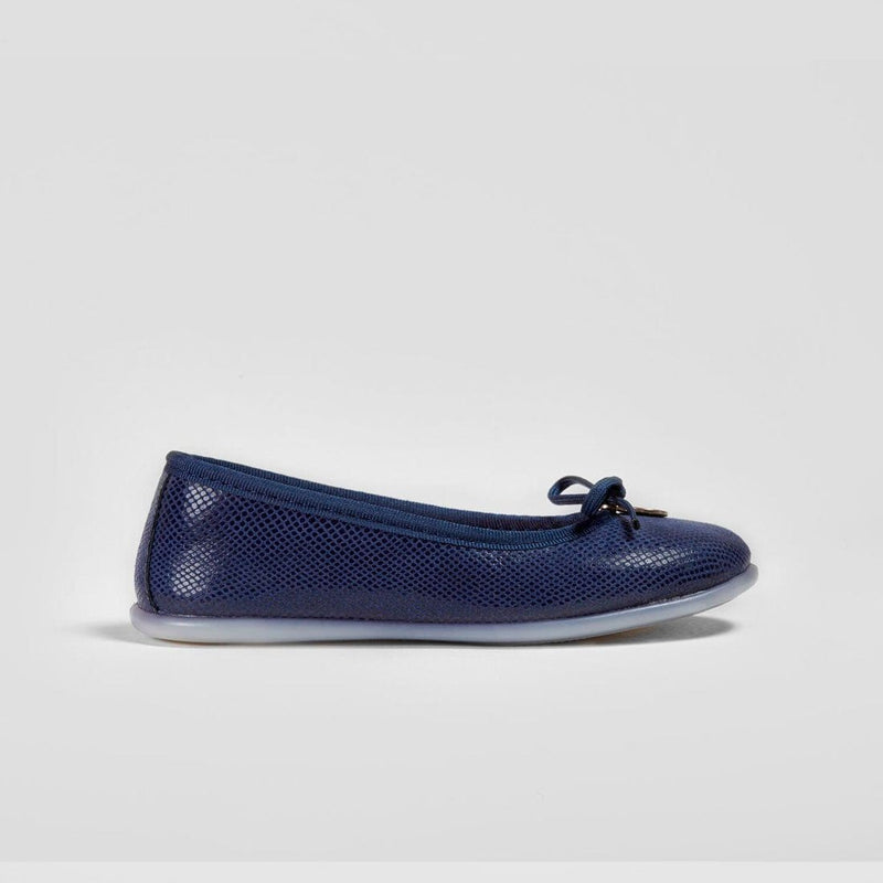 Girl's Fantasy Navy Ballerinas