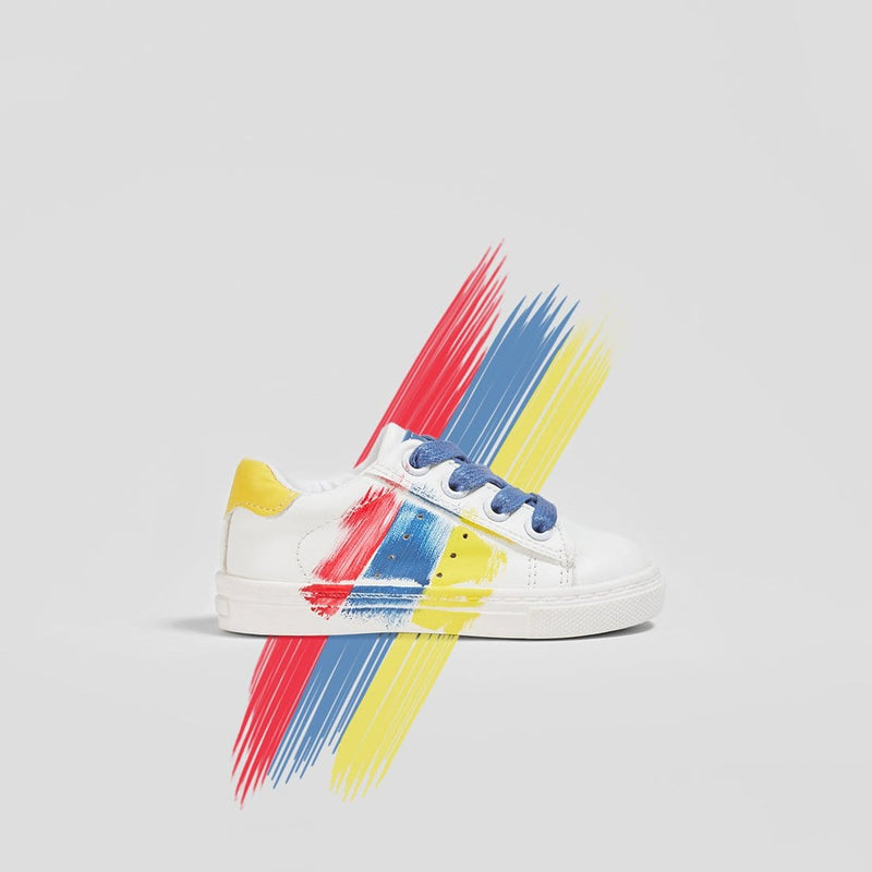 Baby's Hand-painted Sneakers