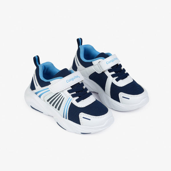 Boy's Navy Sneakers with Lights
