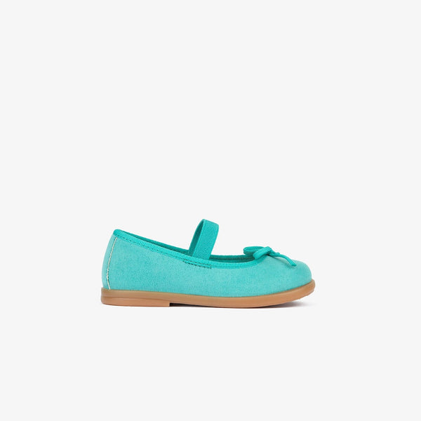 Baby's Blue Basic Ballerinas