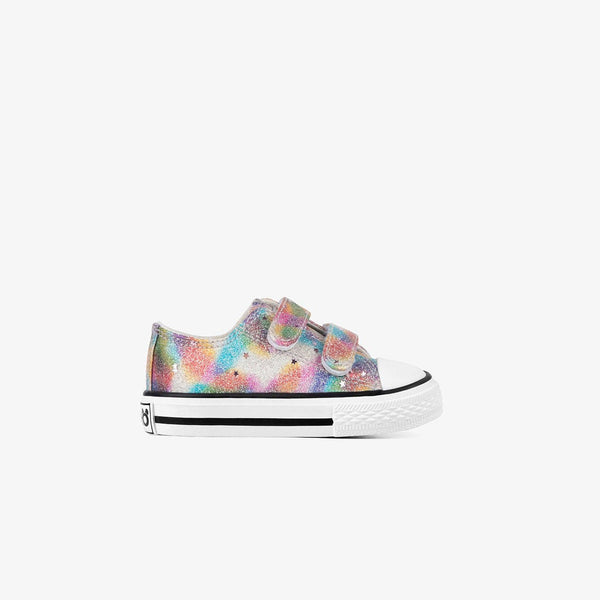 Baby's Glitter Multicolor Sneakers