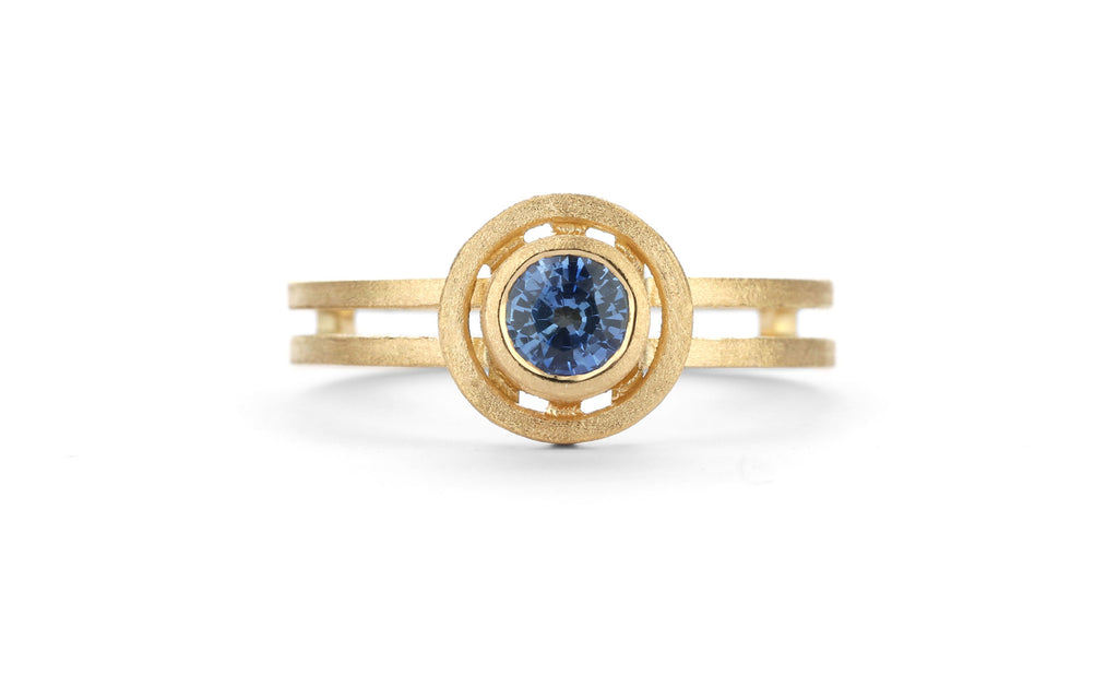 Blue Nova Ring - small