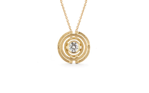 Four Circle Pendant - diamond