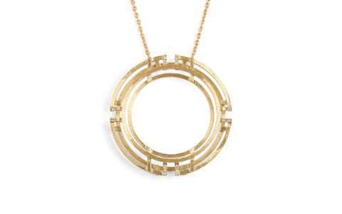 Mega Four Circle Pendant