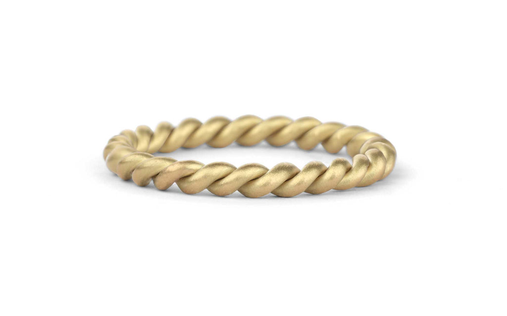 Two Strand Rope Ring, medium