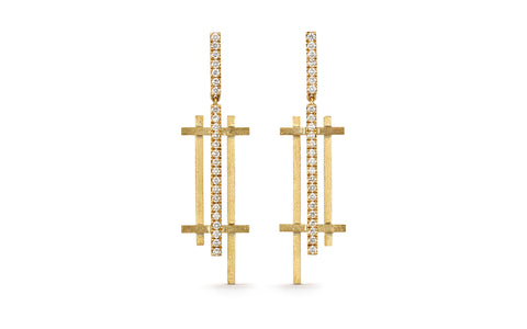 Parallel Vertical Earrings