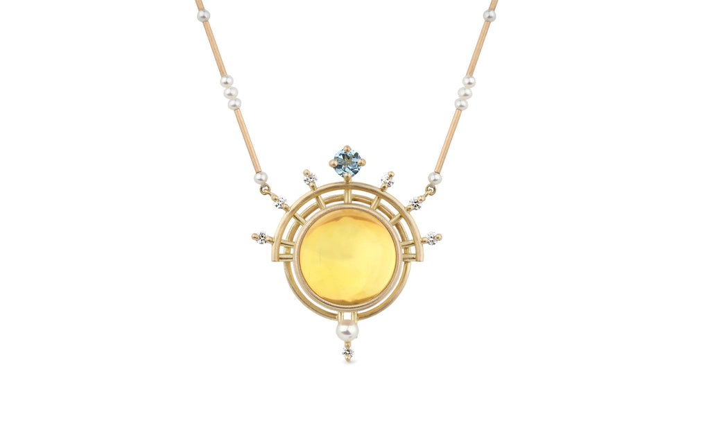 Golden Dawn Sol Necklace