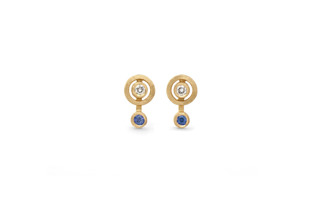 Blue Nova Earstuds - mini