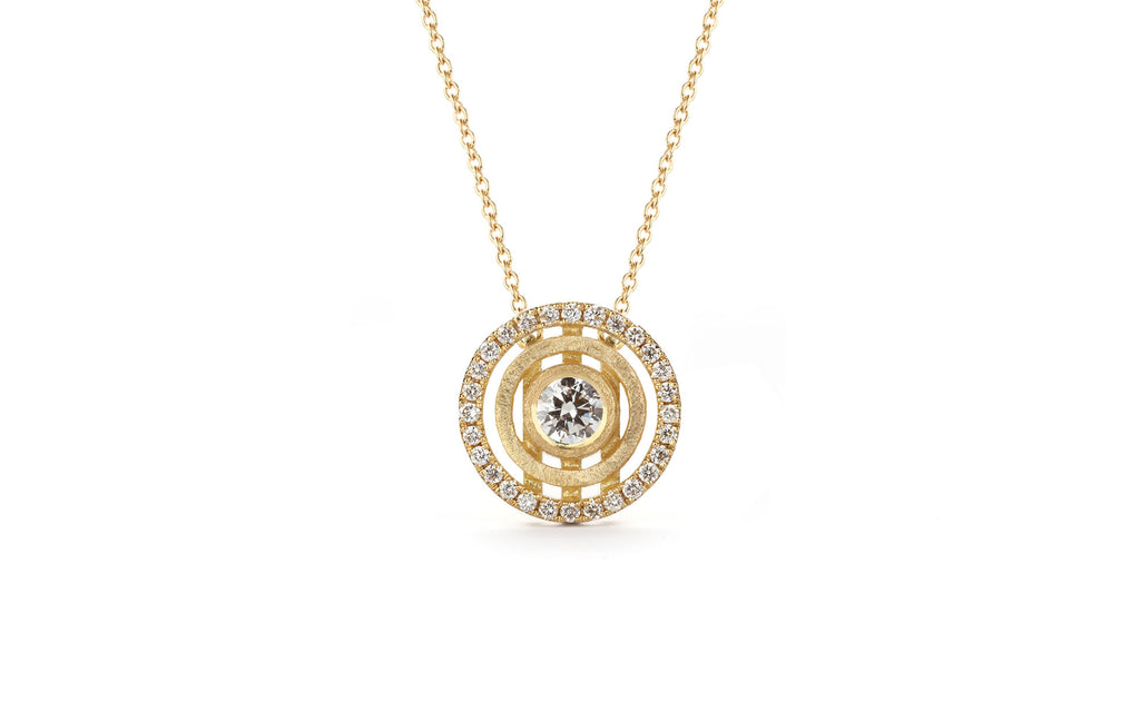 Diamond Mini Solar Pendant