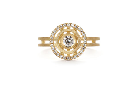 Diamond Mini Solar Ring