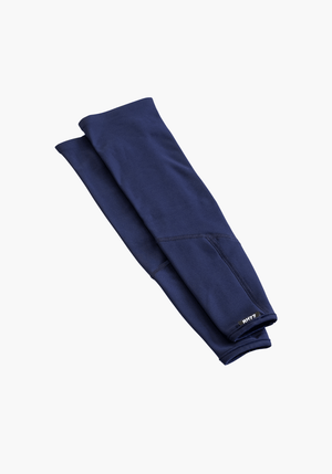 Navy Blue Thermal Arm Warmers