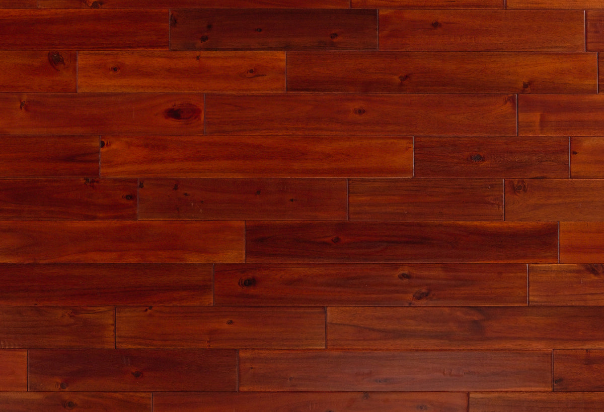 Exotic Mahogany Handscraped