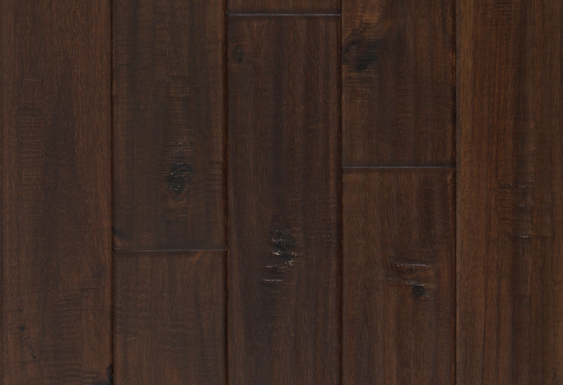 Exotic Walnut Handscraped