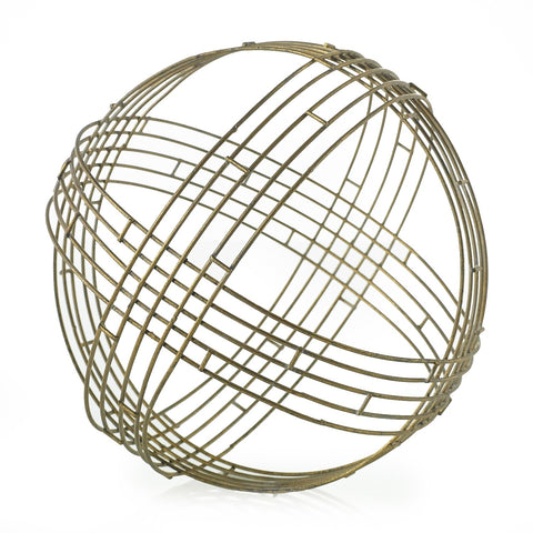 Gold Deco Sphere