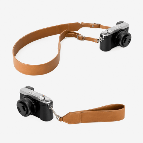 Camera Strap Set for Neck, Shoulders, and Wrist