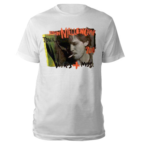 John Cougar Words & Music Tour T-Shirt-John Mellencamp