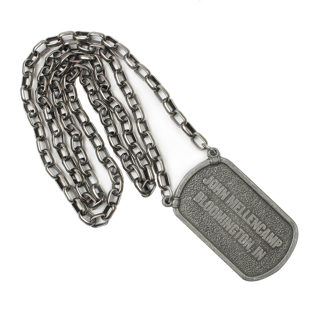 Dogtag Necklace-John Mellencamp