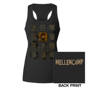 Women's Racerback Songs Tank-John Mellencamp