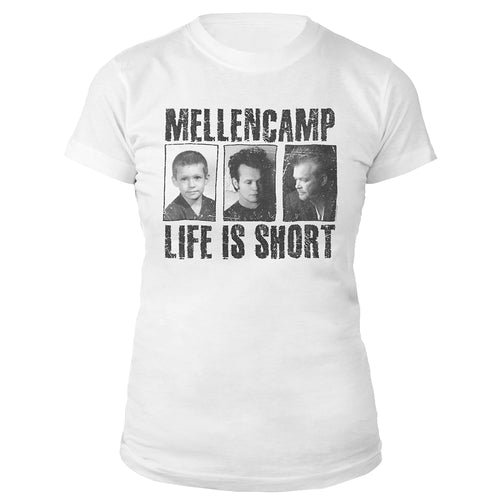 Life Is Short Women's Tee-John Mellencamp