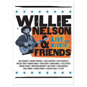 Willie Nelson and Friends - Live & Kickin' DVD-John Mellencamp