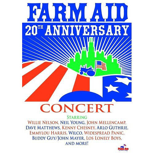 Farm Aid: 20th Anniversary (DVD)-John Mellencamp