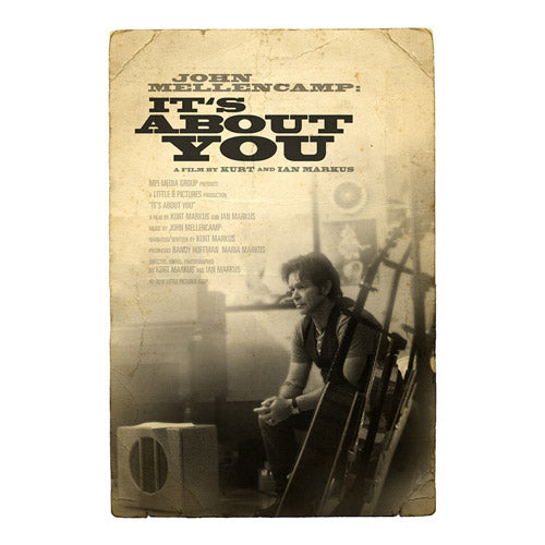 John Mellencamp: It's About You - A Film By Kurt and Ian Markus (DVD)-John Mellencamp