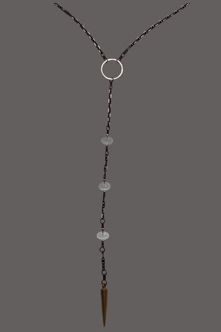 Lariat Cloudy Quartz