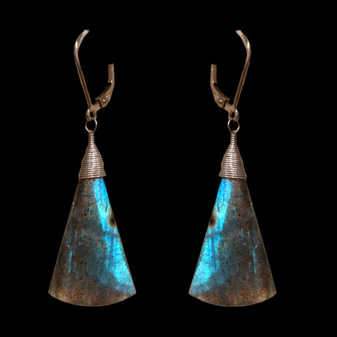 Triangle Shaped Labradorite