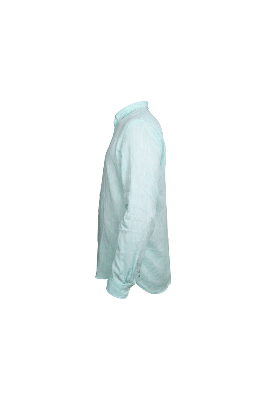 Aquamarin linen shirt