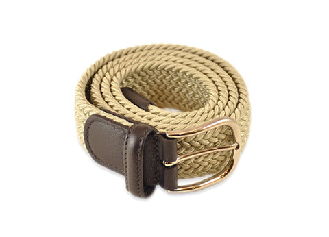 Anderson's Woven Belt - Light Tan