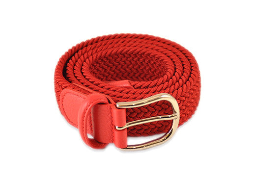 Anderson's Woven Belt - Red