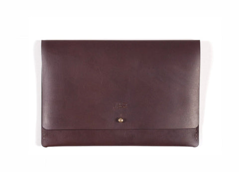 J. Stark Fairfield Clutch - Nut Brown