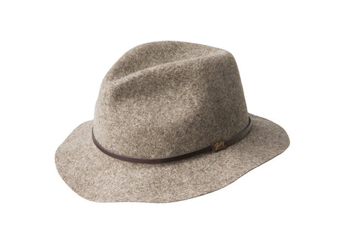 Bailey Jackman Packable Hat - Brown