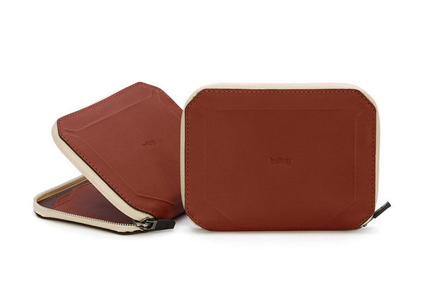 Bellroy Elements Travel Wallet - Cognac